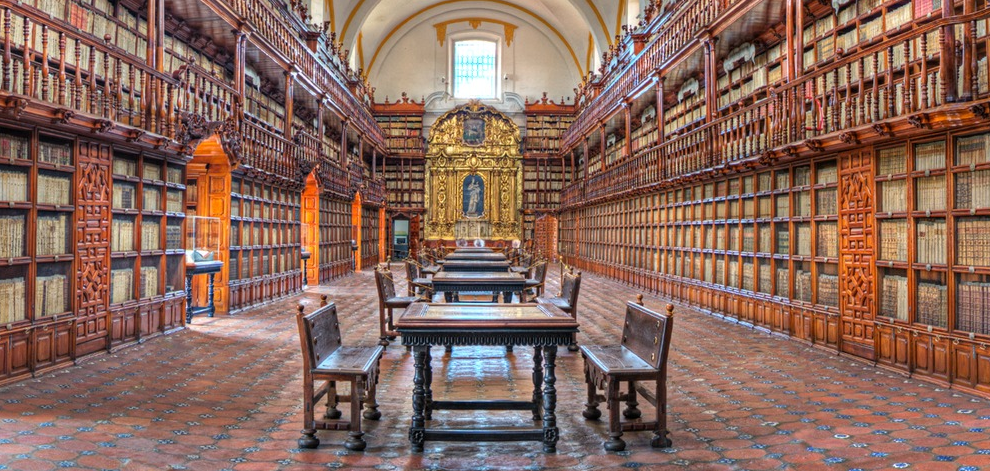 History library - Palafoxiana Library